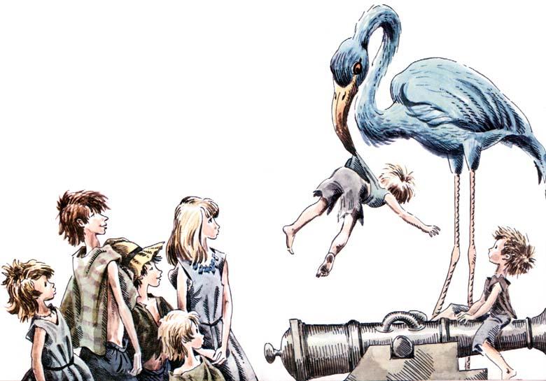 Дети в синем  фото